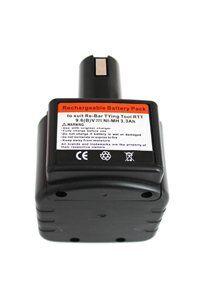 MAX RB655 batteri (3300 mAh, Sort)