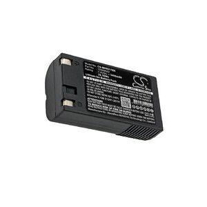 Paxar 6037 Pathfinder batteri (3400 mAh, Sort)
