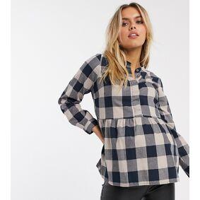 Mama.licious Mamalicious nursing smocked blouse-Multi  Multi