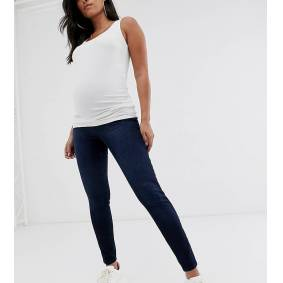 Spanx Maternity Spanx Mama ankle grazer jean-ish leggings-Blue  Blue