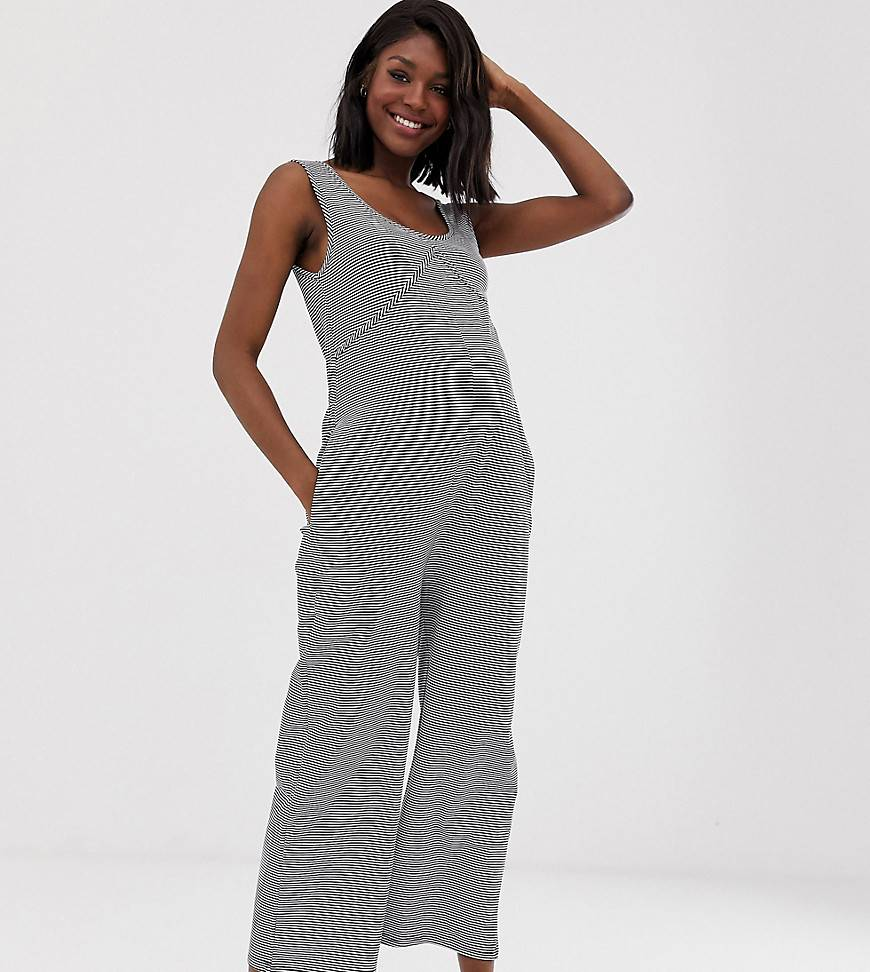Bandia Maternity jersey all in one - Navywhite