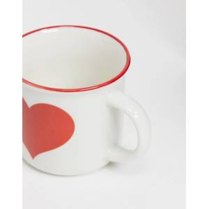 Sass & Belle Sass and Belle heart mug-White  White