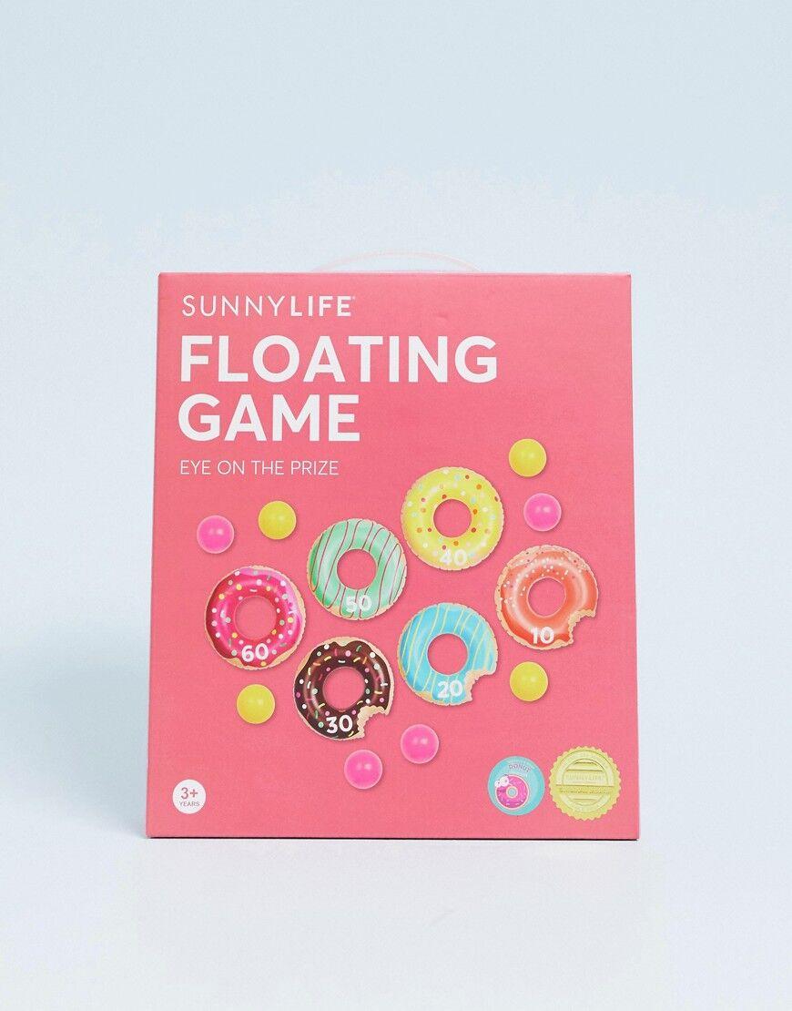 Sunnylife inflatable donut game - Multi