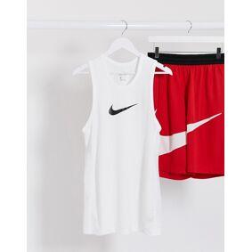 Nike Basketball vest in white  White