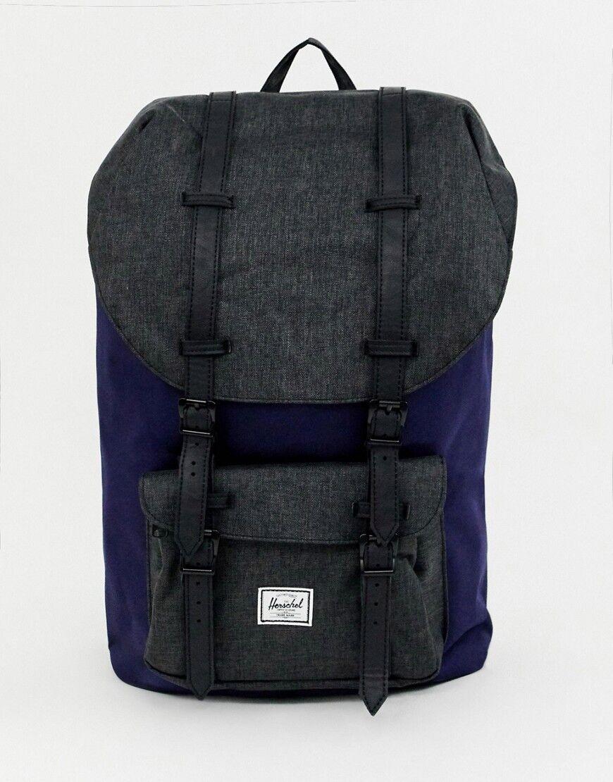 9edb52046dd Herschel Supply Co Little America 25l backpack in navy - Navy