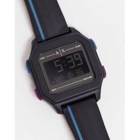 Armani Exchange unisex digital watch in black AX2955  Black