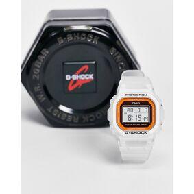 Casio G-shock DW-5600LS-7 digital watch in white  White