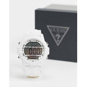 Guess Digital watch in white  White