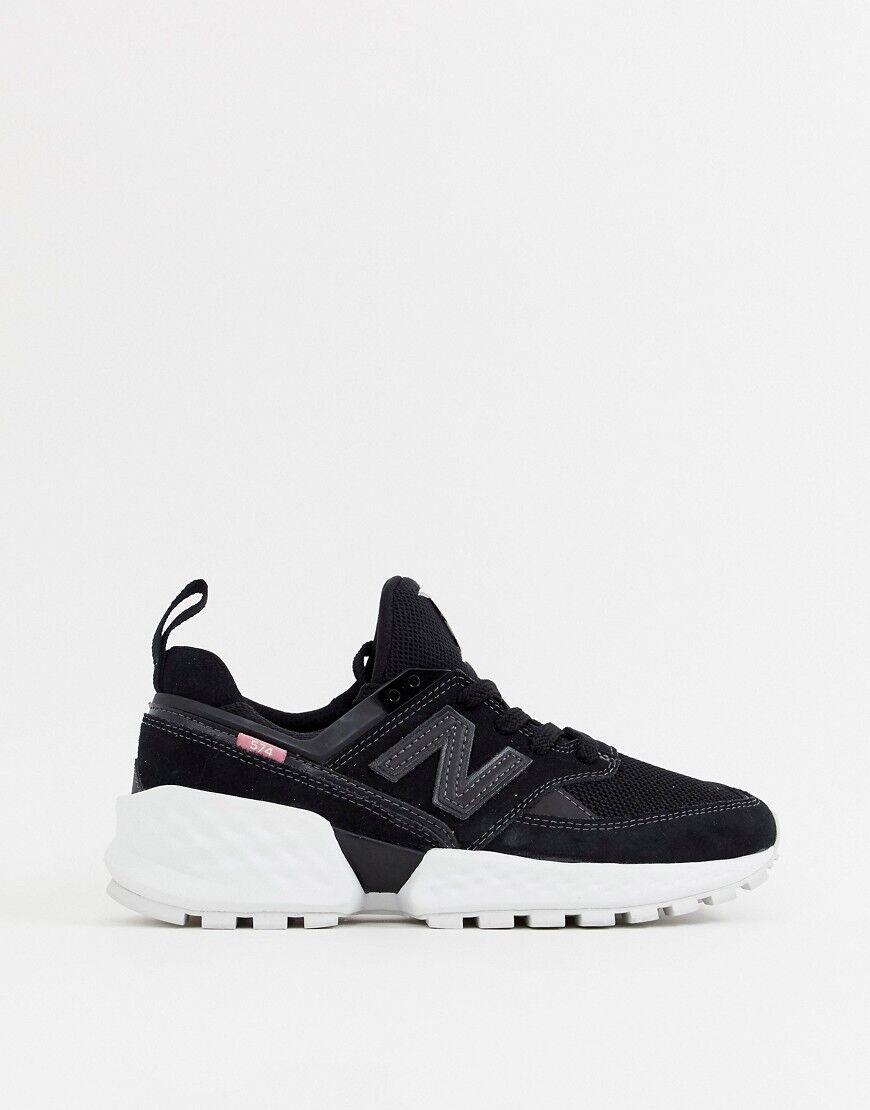New Balance 574 Sport V2 Black Trainers - Black