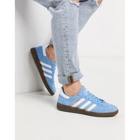 adidas Originals Handball Spezial trainers in blue with gum sole  Blue