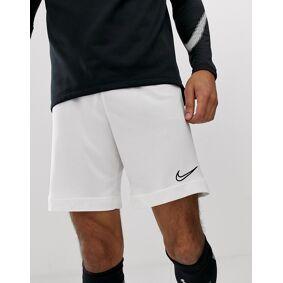 Nike Football academy shorts in white  White