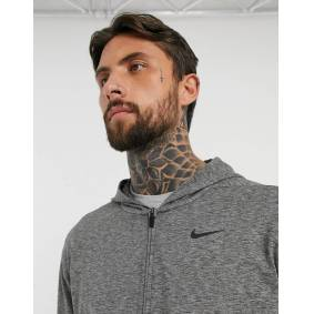 Nike Training Nike Yoga zip-up hoodie in dark grey  Grey