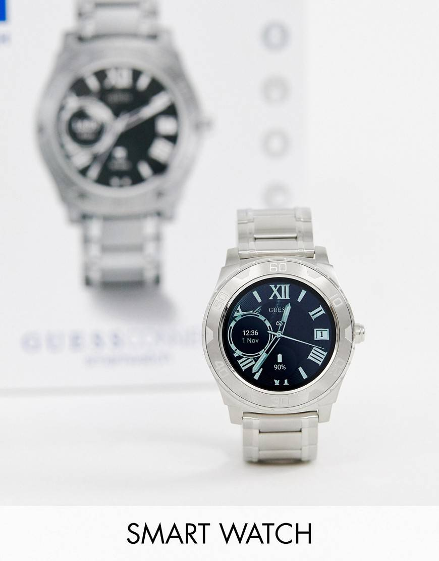 Guess C1001G4 Ace smart bracelet watch - Silver