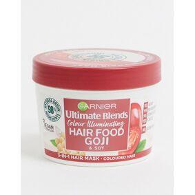 Garnier Ultimate Blends Hair Food Goji 3-in-1 Hair Mask Treatment For Coloured Hair 390ml-Clear  Clear