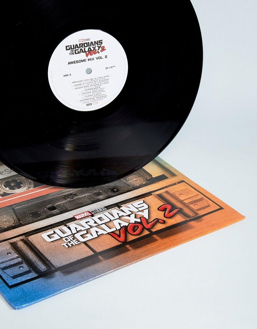Universal Music Guardians of the Galaxy Vol2 Vinyl Album Record - Multi