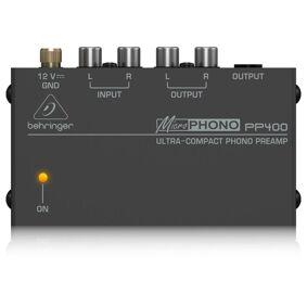 Behringer Microphono Pp400 Dc 12 V Adapter Inkudert