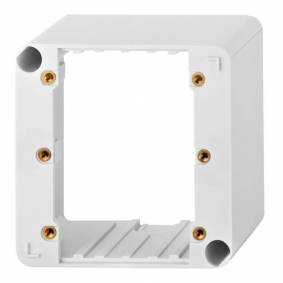 Audac Wb 3102 Sw - Wall Box Plastic For Controller Auvc3062/