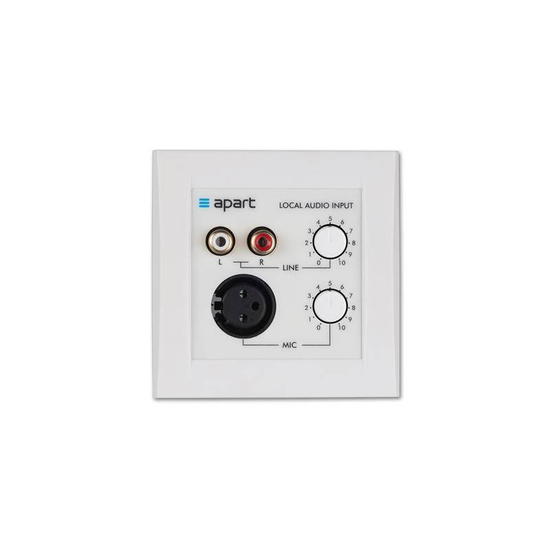 Apart ALINP Active local input panel For 12-8, PM1122, Zone4, MA247-MR