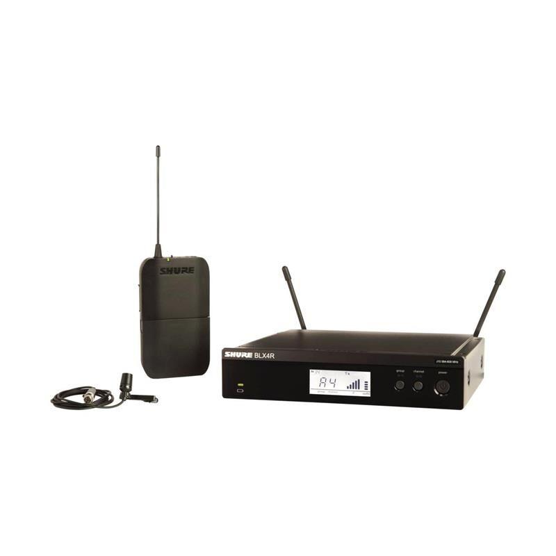 Shure Blx14re Lavalier System Med Cvl-B-C, S8(823-832 Mhz)