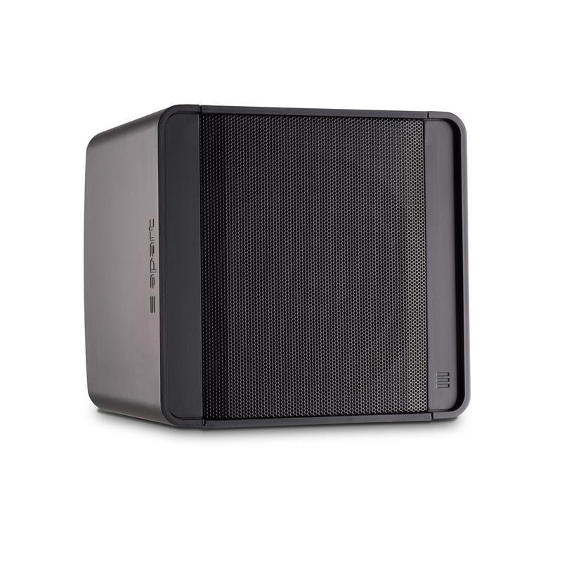 "Apart KOBO5 Black Loudspeaker 5.25"" Compact design two-way, black"