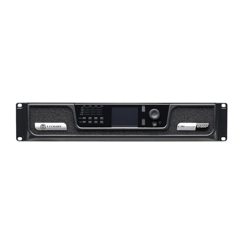 Crown CDi4 1200BL, 4 x 1200W BLU Link installasjonsforsterker