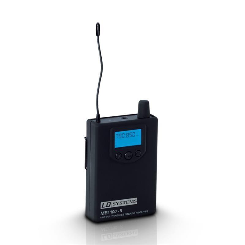 LD Systems MEI100 Wireless In-Ear Monitorsystem, Receiver