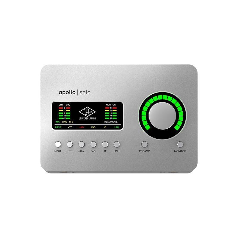Universal Audio Apollo Solo Usb-C Edition