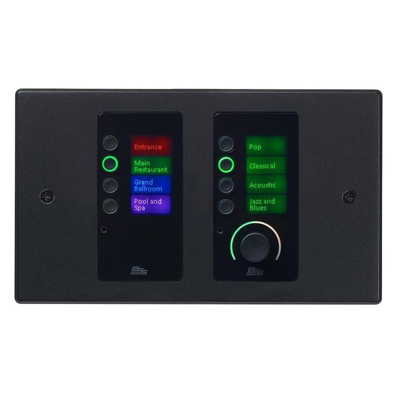 BSS Contrio EC-8BV betj.panel med Ethernet/PoE  -  Volum + 8 knapper