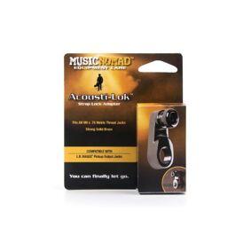 Music Nomad Mn271 - Acousti-Lok Strap For Metric Output Jacks