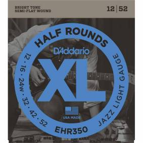 D'Addario Ehr350 Half Round (012-052)