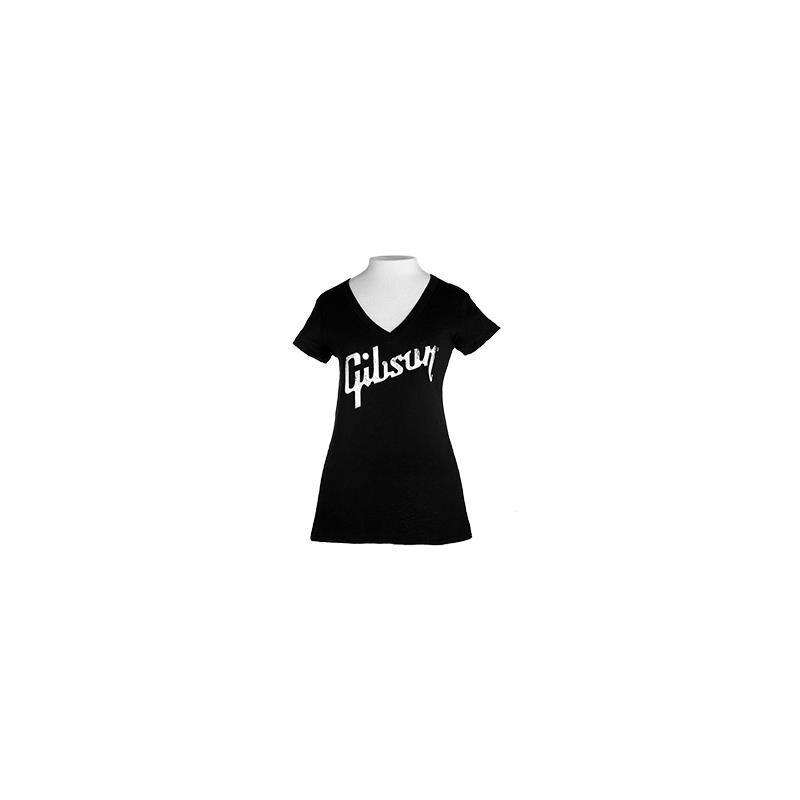 Gibson S & A GIBSON GEAR Logo Women's V Neck [L]