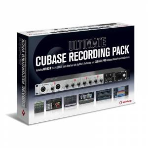 Steinberg Ultimate Cubase Recording Pack UR824 Interface & Cubase Pro