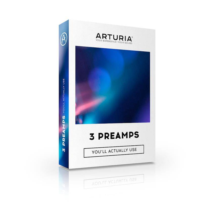 Arturia 3-Preamps Software Pack