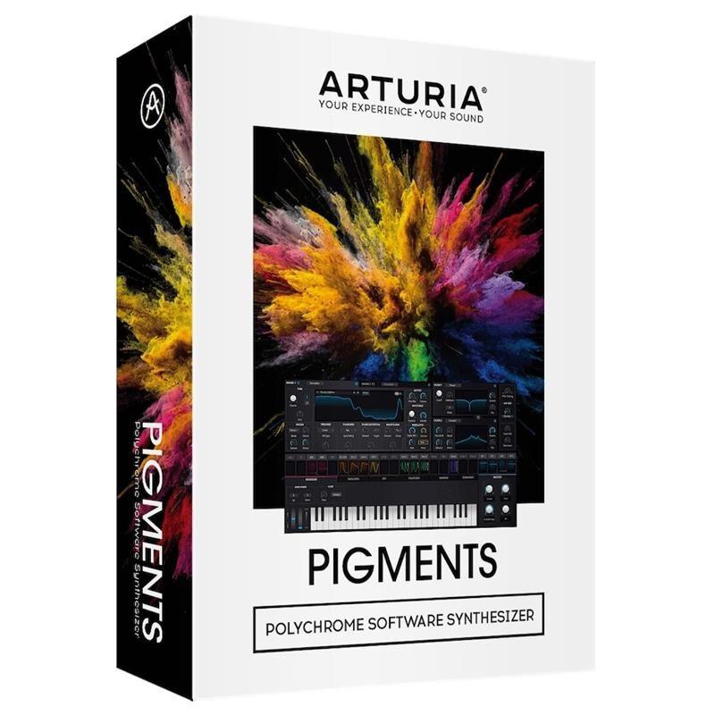 Arturia Pigments Polychrome Synth Software (Box)
