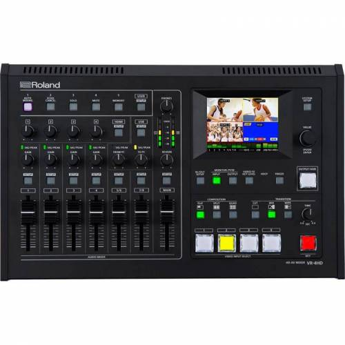 Roland Vr-4hd Av-Mixer & Recorde...