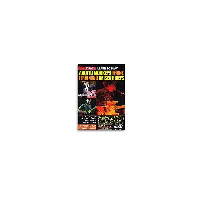 Unknown DVD Arctic Monkeys, Franz Ferdinand And Kaiser Chiefs DVD
