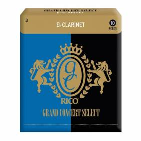 D'Addario Woodwinds D'Addario Rgc10ecl300 Klarinett Flis Grand Concert Eb Clarinet 3.0 10 Pack
