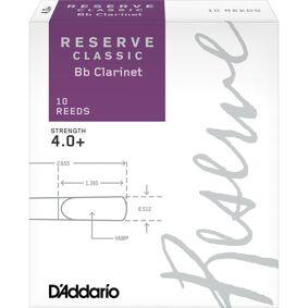 D'Addario Woodwinds D'Addario Dct10405 Klarinett Flis Reserve Classic Bb Clarinet 4.0+ 10 Pack