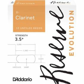 D'Addario Woodwinds D'Addario Dce10355 Flis Reserve Evolution Bb-Klarinett 10-P 3.5+