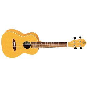 Ortega Guitars Ortega Rugold Concert Ukulele Earth, Gold