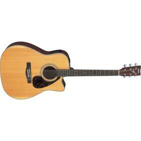 Yamaha Fx370c Naturlig Elektrisk-Akustisk Gitar