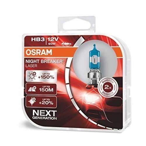 Osram 9005nl Night Breaker Laser Hb3 2-Pak Forlygtepære