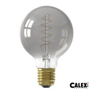 Calex Led Globe G80 4w E27 Titanium 100lm Dimmable