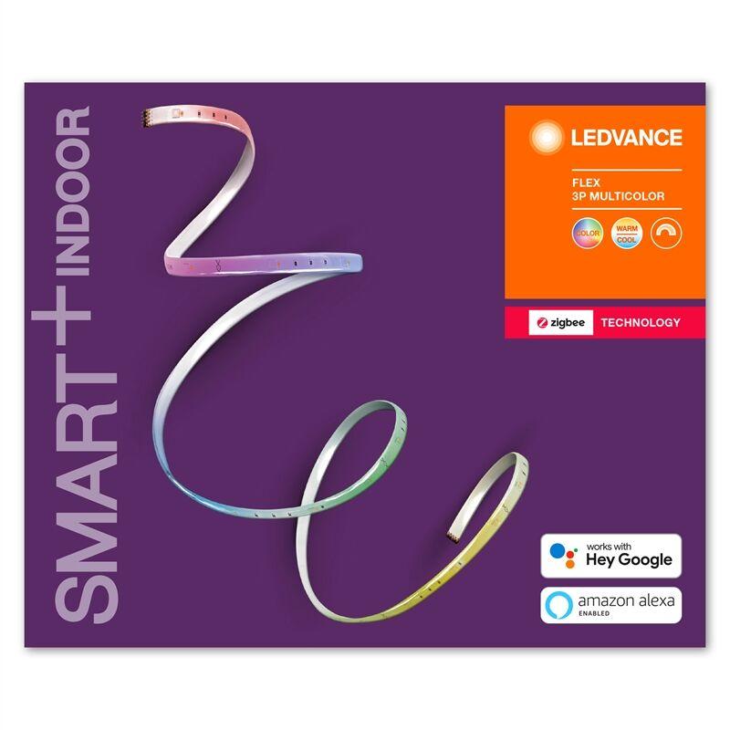 Smart+ Zigbee Flex 10w Multicolour Rgbtw Start Sæt 3 X 60cm.
