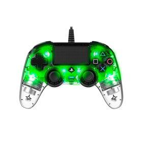 Nacon Wired llluminated Compact Kontroller Grønn (PS4/PC)