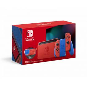 Nintendo Switch Konsoll - Mario Red & Blue Edition