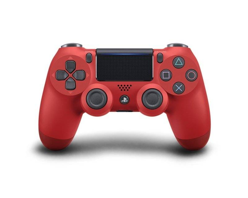 Sony Dualshock 4 Trådløst PS4 Kontroll v2 - Magma Red