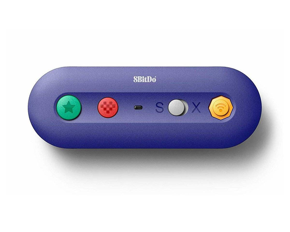 8Bitdo GBros (Trådløs Switch Adapter til Gamecube Controller)