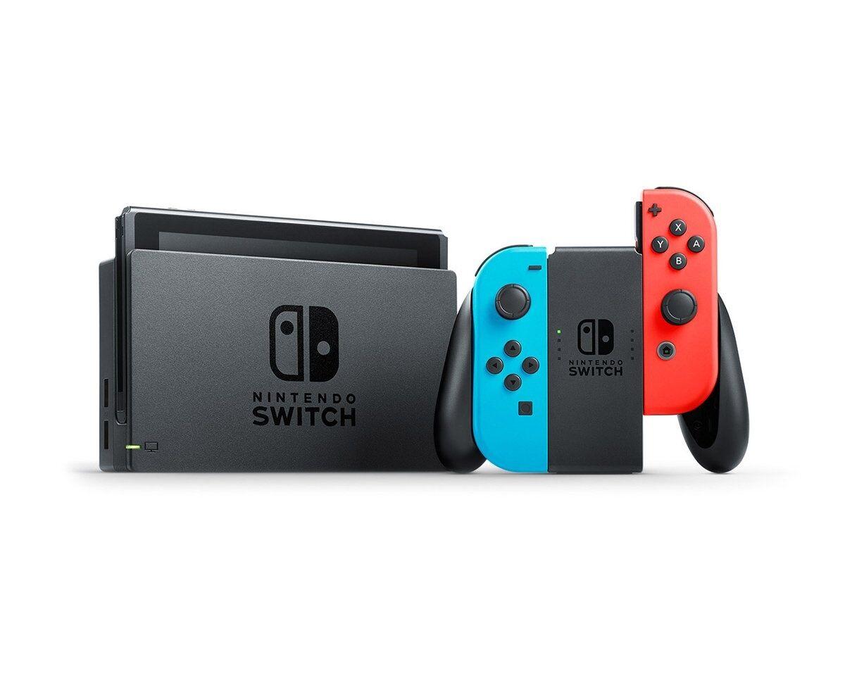 Nintendo Switch Konsoll Blå/Rød