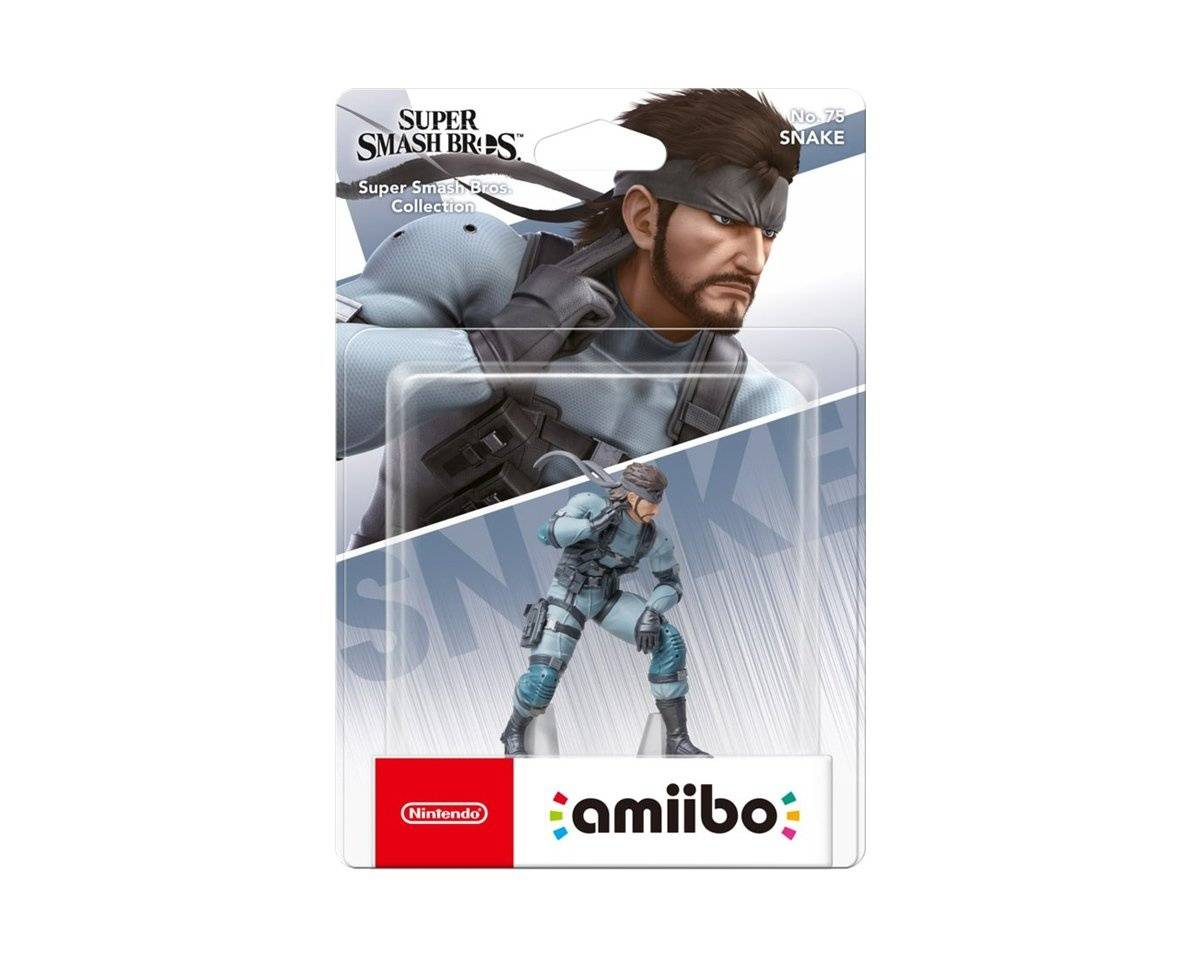 Nintendo amiibo Smash Snake